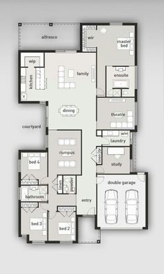 I like this but it would be huge. I like the separate 'theatre' room