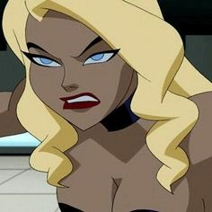 Angry Black Canary – World Of Games Black Canary Costume, Black Canary Comic, Arrow Black Canary, Cartoon Icons, Girl Cartoon, Cartoon Art, Black Anime Characters, Cartoon Characters, Green Arrow Comics
