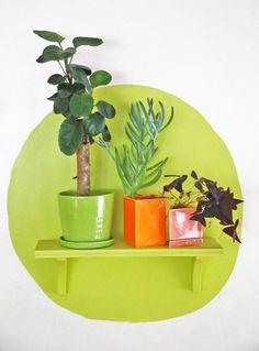 Make a shelf pop, from Apartment Therapy