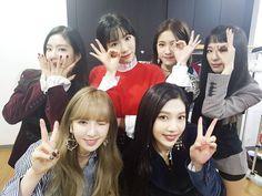 Taeyeon with Red Velvet