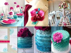 Turquoise wedding theme: find the perfect theme for you   Eventi e Wedding P. - The Wedding Blog