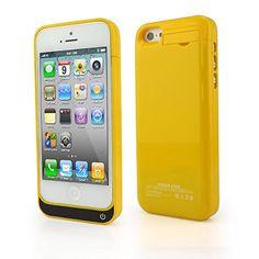 Ultra ® edición amarillo 2200 mah cargador Power Bank casos para Iphone 5 c 5 y 5s modelos recargable incluida un media kick stand disponible en blanco azul rosa negro verde y amarillo confirmado compatibilidad con iOS9 - http://www.tiendasmoviles.net/2015/10/ultra-edicion-amarillo-2200-mah-cargador-power-bank-casos-para-iphone-5-c-5-y-5s-modelos-recargable-incluida-un-media-kick-stand-disponible-en-blanco-azul-rosa-negro-verde-y-amarillo-confirmado/