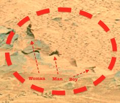 UFO SIGHTINGS DAILY: New Photo Found Revealing Same Woman Figure On Mars, UFO Sighting News.