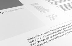 7 excellent examples of Corporate & Brand Identity for Law Firms | djavupixel.com