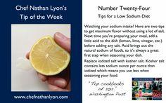 Weekly Tip Number Twenty Four