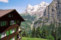 Jungfrau (Murren), Switzerland (1988)