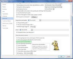 Jasa Pengetikan Online Microsoft Office,Excel,Word,Print & Scan Autocad: Cara Aktifkan Picture Placeholder untuk dokumen bergambar Microsoft Word