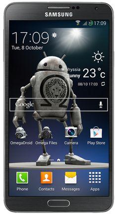 Omega Rom for Galaxy Note 3 SM-N9005 v22.1 Kit Kat