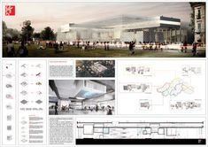 Competition Asks Young Architects to Transform Abandoned Factory into Cultural Center,Mention: Kois Associated Architects (Stylianos  Chatzilidis, Nikos Patsiaouras, Marielina Stavrou). Image Courtesy of Young Architects Competitions