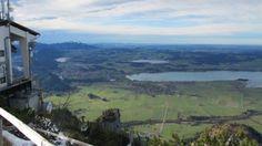Half day hike Mount Tegel, (or ski lift) behind Neuschwanstein Castle