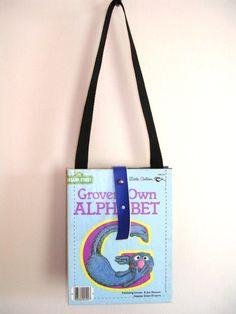 Kids purses made from repurposed Little Golden Books