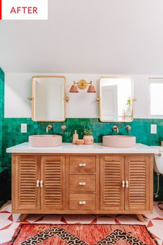 Before and After: This Is Not a Minimalist, Monochromatic Bathroom Makeover | Apartment Therapy