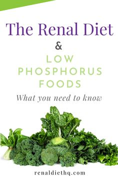 Too much phosphorus can actually leach calcium from your bones, making them weak. High phosphorus levels can also cause bone pain, muscle fatigue, and even heart problems. Healthy Kidney Diet, Healthy Kidneys, Kidney Health, Low Phosphorus Foods, Kidney Friendly Foods, Kidney Disease Symptoms, Renal Diet, Kidney Recipes, Diabetic Recipes