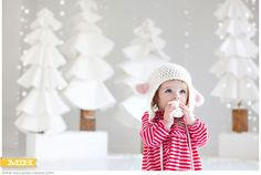 Adorable Winter photography background by Millie Holloman