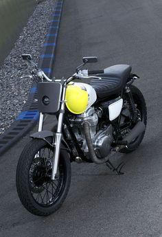 The Philippe Starck redseigned Kawasaki W800