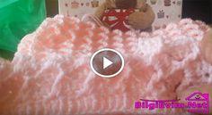 Çok İstenilen Bebek Battaniyesi Videolu Anlatım | Anlatımlı Örgü, Örgü Modeli, Nasıl Yapılır, El işi, Dantel,