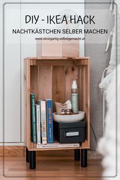Hacks Diy, Home Hacks, Ikea Hacks, Floating Nightstand, My Room, Locker Storage, Diy And Crafts, Upcycle, Sweet Home