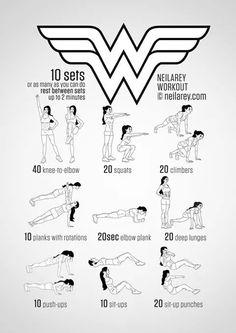Wonder Woman Workout.