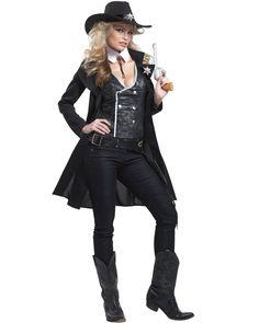 Round Em Up Sheriff Womens Costume