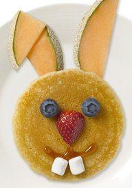Bunny breakfast for Easter