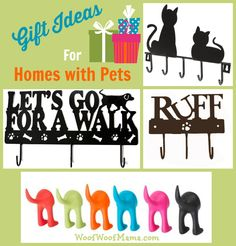 Stylish Gifts for Homes with Pets: Dog Leash Holders and Decorative Wall Hooks