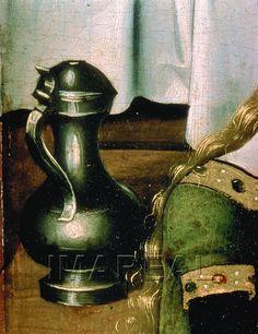 Geburt Mariens Kunstwerk: Temperamalerei-Holz ; Tafelbild ; Meister von Schloss Lichtenstein ; Wien  Dokumentation: 1440 ; 1450 ; Wien ; Österreich ; Wien ; Österreichische Galerie ; IN 4904  Anmerkungen: 101x49,5