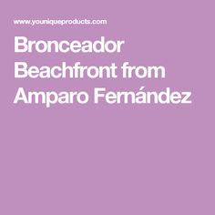 Bronceador Beachfront from  Amparo Fernández