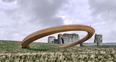 GKA's iron ring sculpture represents the intimate relationship between the medieval monarchies