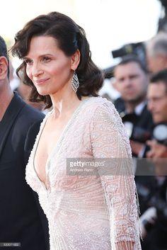 Photo d'actualité : Actress Juliette Binoche attends 'The Last Face'...