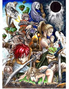 Chrono trigger by on deviantart Super Nintendo, Game Character, Character Design, Chrono Cross, Creating Keepsakes, Chrono Trigger, Video Game Art, Video Games, Dragon Quest