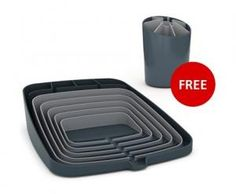 Joseph Joseph fans are going to love this one: JJ Arena Dish Drainer + Free JJ Segment Utensil Holder AND Free delivery... Deal or No Deal?
