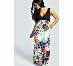 boohoo Floral Contrast Top Maxi Dress - multi azz28753 Floaty, floor-sweeping and fashion- forward, the maxi dress is the most-wanted way to make waves this season. Column maxis are cool, drop waist's directional and bold prints bad ass, but easy to wear  http://www.comparestoreprices.co.uk/dresses/boohoo-floral-contrast-top-maxi-dress--multi-azz28753.asp