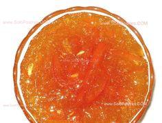 Dulce de zanahoria, naranja y limón
