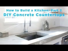 HomeMade Modern EP87 Concrete Kitchen Countertops