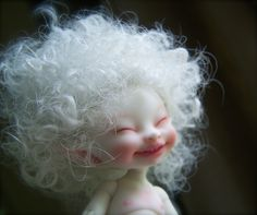 *SORRY, no information as to product used ~ realpuki soso by winternightpoem Clay Dolls, Bjd Dolls, Mode Gipsy, Elves And Fairies, Baby Fairy, Creepy Dolls, Fairy Art, Fairy Dolls, Ball Jointed Dolls