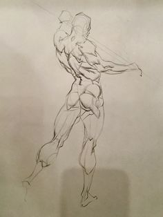 """""""Quick sketch is really slow sketch.a series of good decisions. 5 min demo by Watts Figure Drawing Practice, Figure Drawing Reference, Art Reference Poses, Anatomy Reference, Anatomy Poses, Anatomy Art, Anatomy Drawing, Gesture Drawing, Drawing Poses"""