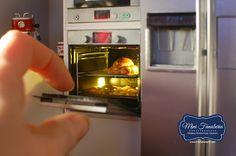 Mini piekarnik / Handmade oven 1:12   Miniaturowy Świat Lady Fanaberii