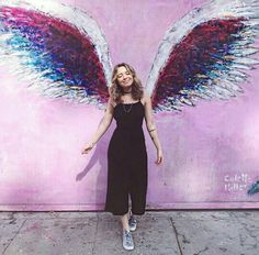 ( Wings project in LA Tumblr Photography, Photography Poses, Couple Photography, Angel Wings Art, Pre Wedding Photoshoot, Photos Tumblr, Foto Pose, Tumblr Girls, Types Of Fashion Styles