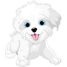 Illustration about Illustration of Cute Playful lap-dog. Illustration of animal, tail, pets - 25427807 Cute Bulldog Puppies, Cute Bulldogs, Dogs And Puppies, Maltese Dogs, Cartoon Dog, Cute Cartoon, Cartoon Characters, Puppy Clipart, Puppy Images