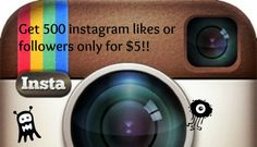 surbhi123: give you 500 REAL likes or followers on your instagram for $5, on fiverr.com