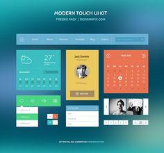 Free Download: Modern Touch UI Kit