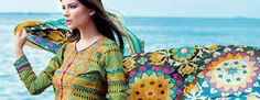 Gul Ahmed silk collection