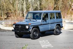 A Classic G-Wagen So Pretty You Won't Care It Doesn't Have A/C - mercedes g klasse - Autos Mercedes G Wagen, Mercedes G500, Mercedes Benz G Class, Toyota Lc, Classic Car Restoration, Classic Mercedes, Expedition Vehicle, Classic Cars Online, G Wagon