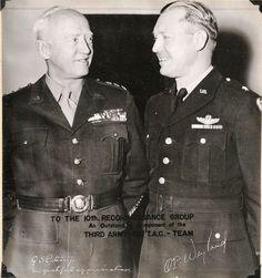Generals Patton and Weyland