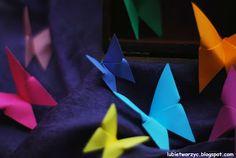Lubię Tworzyć: Motyl origami