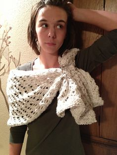 Loom Knit Shawl or Table Runner pattern