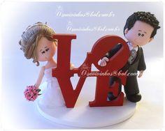 topo de bolo noivos engraçados - Pesquisa Google
