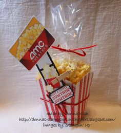 Stamps Well With Others: Popcorn Box Tutorial