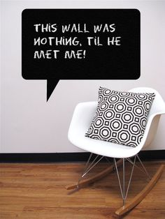 Do You Want to Write on Your Walls?