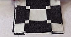 The Black And White Diner Quilt Is Elegant, Simple, And Has So Many Different Looks!